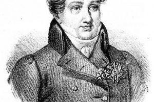 Georges Cuvier dal 'Poliorama pittoresco'. La storia nella storia